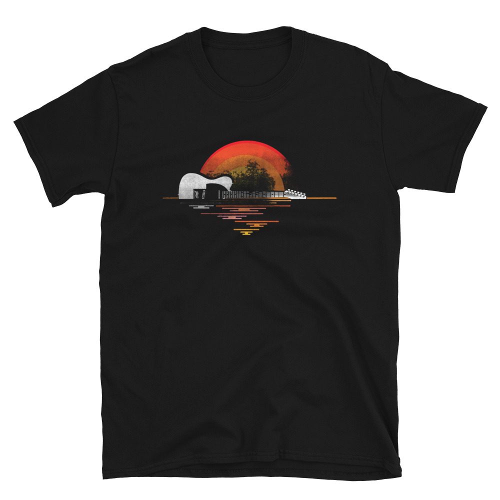 Rising Sun Telecaster tshirt