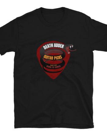 SNAKEBYTE Guitar Pick t Shirt